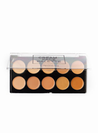 Contour Cream 10 Color Face Palette
