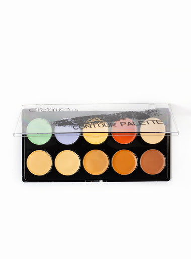 Contour and Corrector 10 Color Palette