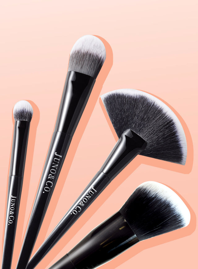 JUNO&Co. Makeup Essential Brush Bundle