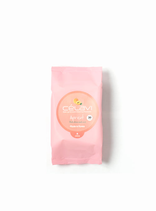 Make-up Remover Cleansing Towelettes- Apricot