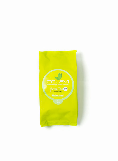 Make-up Remover Cleansing Towelettes- Green Tea