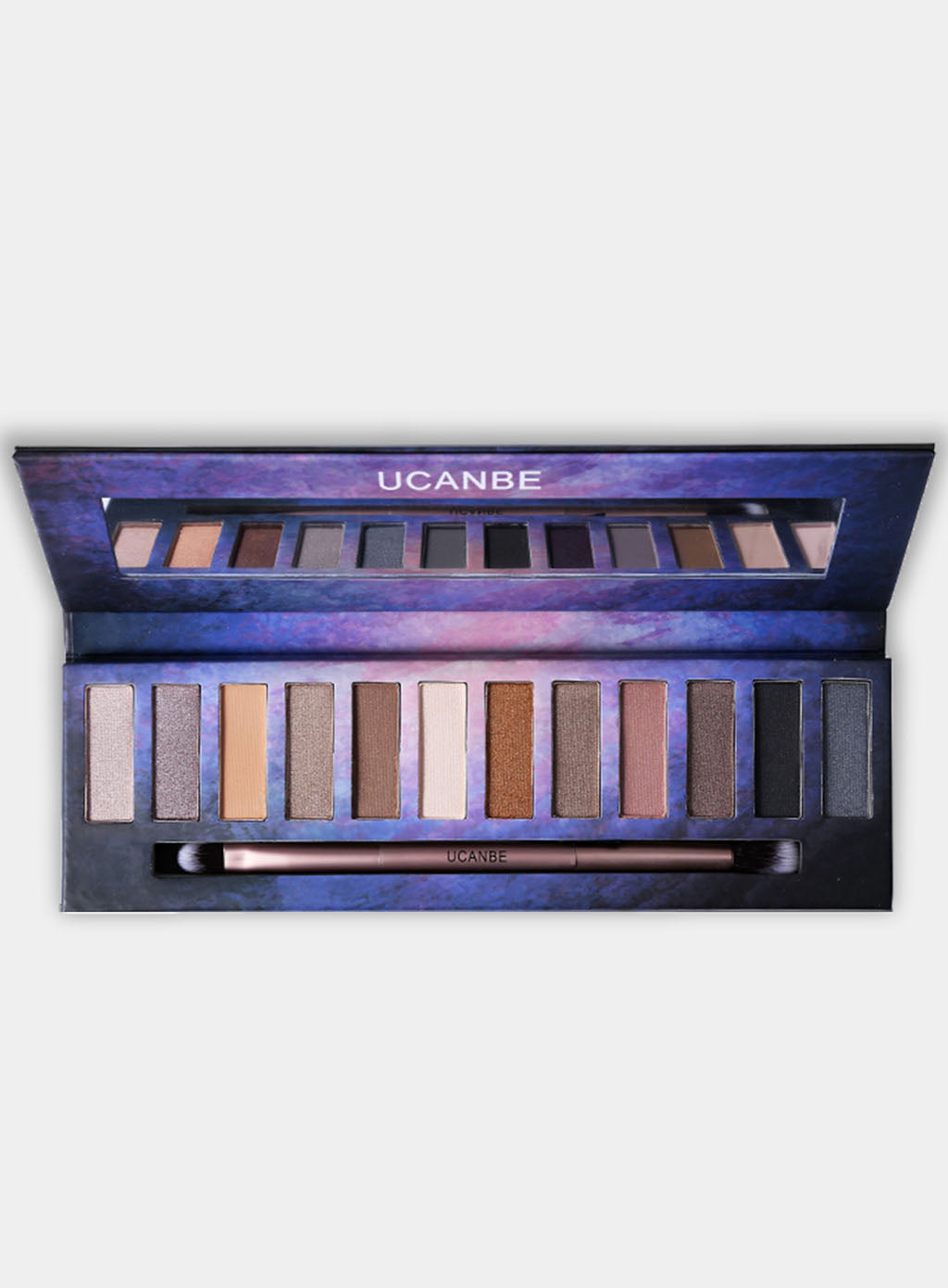 UCANBE Double Exposure 12 Color Eyeshadow Palette