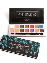 14 Colors Eyeshadow Palette - Everchanging