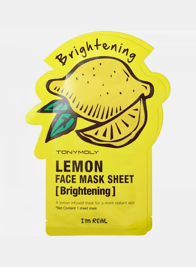 I'm Real Lemon Mask Sheet Brightening