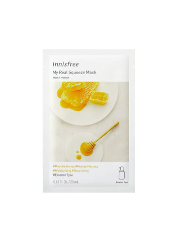 [Innisfree] My Real Squeeze Mask EX  Manuka Honey