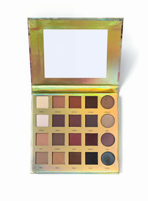 Natural Color Palette 20-Color Eyeshadow- Amazonian Clay Palette