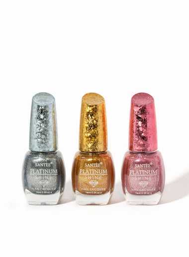 Platinum Shine Nail Polish