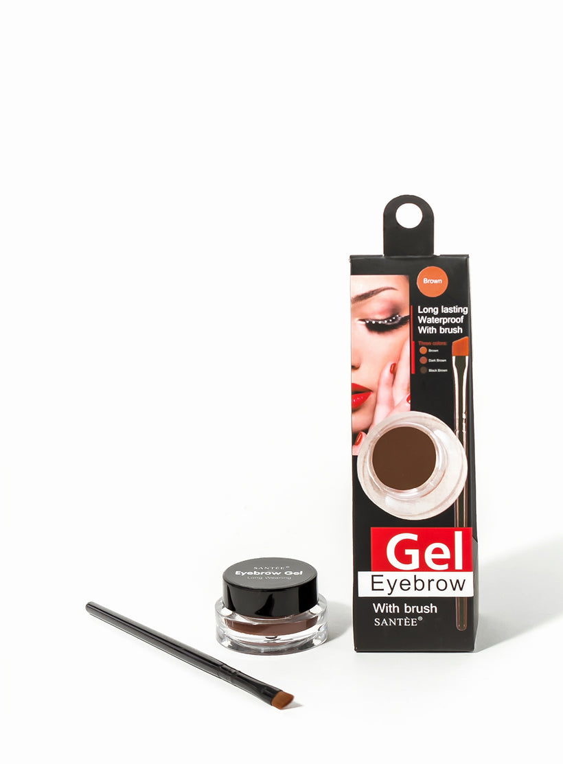 Gel Eyebrow with Brush