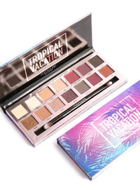 14 Colors Eyeshadow Palette - Tropical Vacation