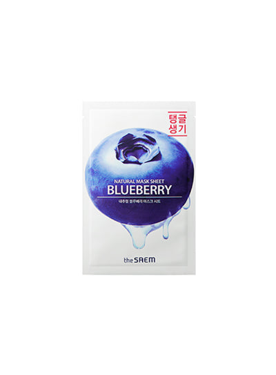 [the SAEM] Natural Blueberry Mask