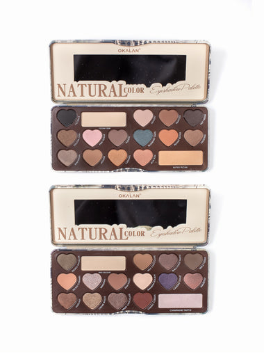 Natural Destinations Eyeshadow Palette Bundle