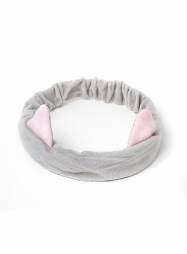 Grey Kitty Headband