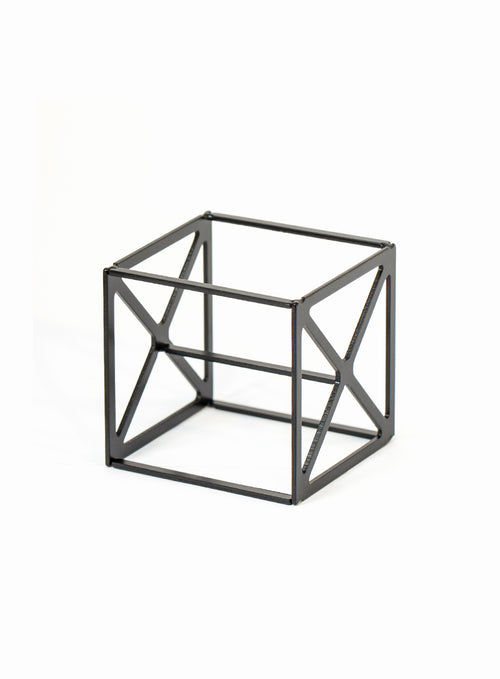 Sponge Cube Holder in Black