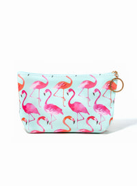 Flamingo Fla-mingle  Makeup Bag