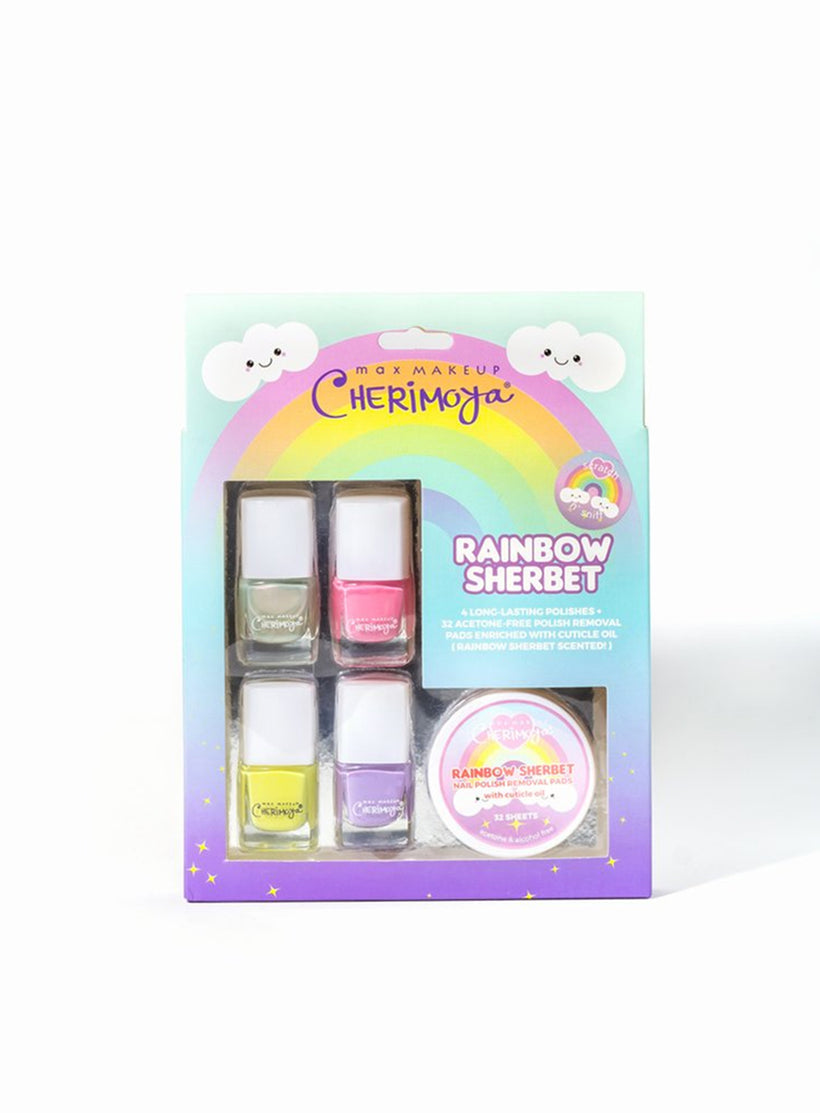Rainbow Sherbet Nail Polish Set