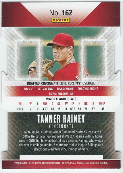 2015 Donruss Elite Extra Edition Status Die Cut #162 Tanner Rainey 036/150