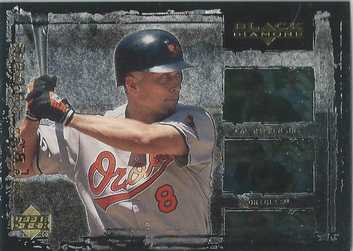 2000 UD Black Diamond Diamond Gallery #G4 Cal Ripken Jr.