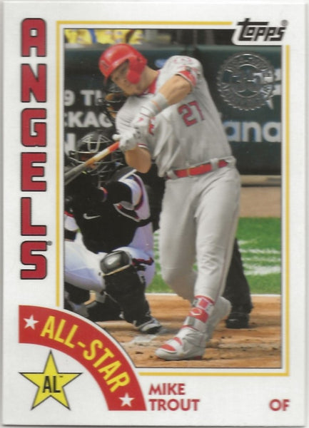 2019 Topps '84 Topps All-Stars Mike Trout #84AS-MT