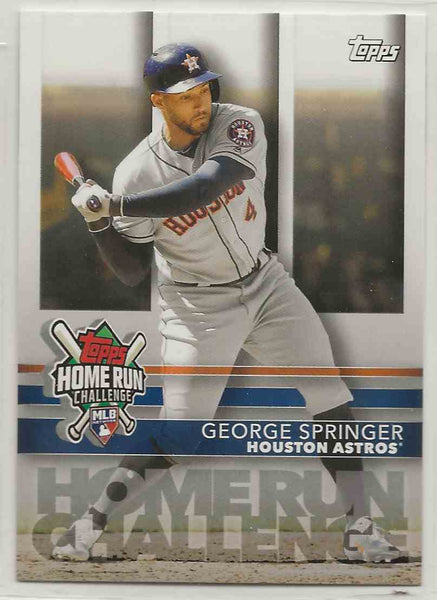 2020 Topps Home Run Challenge George Springer #HRC-14