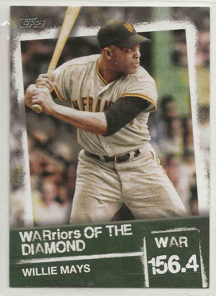 2020 Topps WARriors of the Diamond Willie Mays #WOD-4