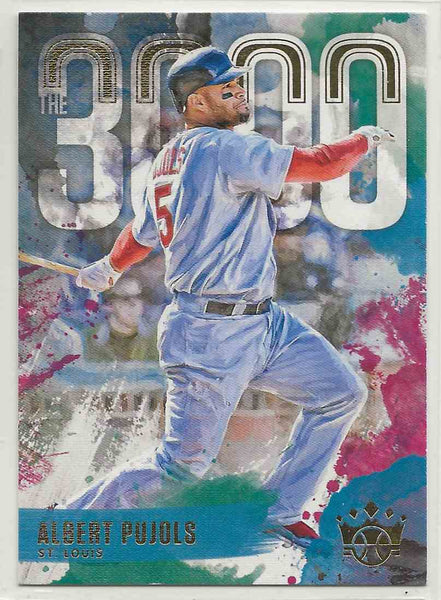 2000 Diamond Kings The 3000 Albert Pujols #3000-12