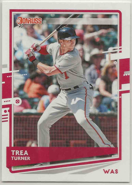 2020 Donruss Variation Trea Turner #108