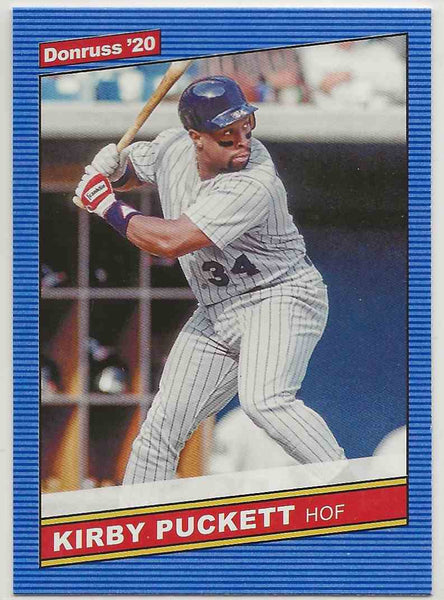 2020 Donruss Retro Variation Kirby Puckett #217