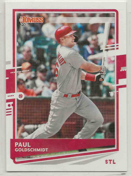 2020 Donruss Variation Paul Goldschmidt #127
