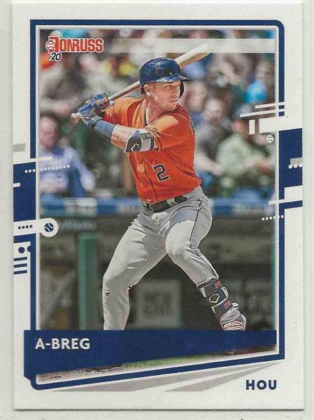 2020 Donruss Variation Alex Bregman #112