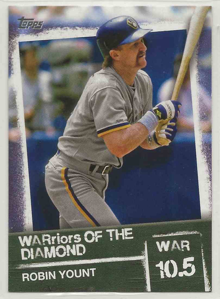 2020 Topps WARriors of the Diamond Robin Yount #WOD-48