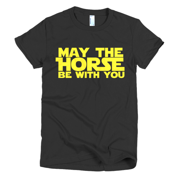 """May The Horse Be With You"" Tee"