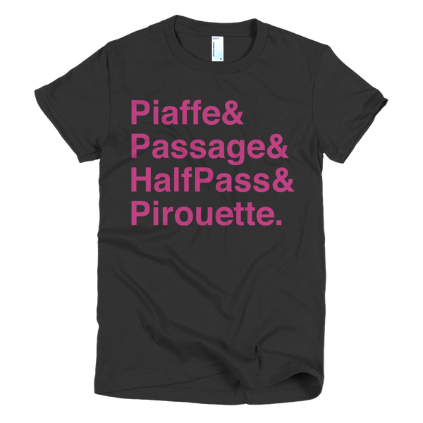 Dressage Movements Tee