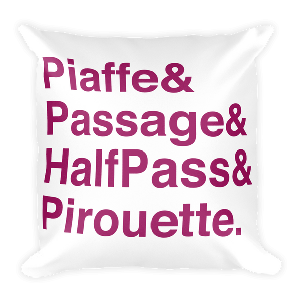 Dressage Pillow