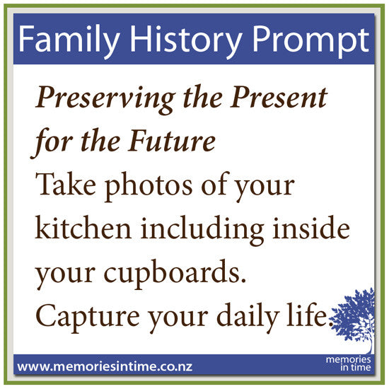 Preserving the Present for the Future - The Kitchen