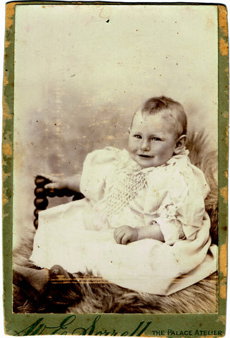 Mystery Baby Photo Front