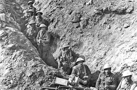 2nd Battalion Auckland Regiment New Zealand trench Flers September 1916