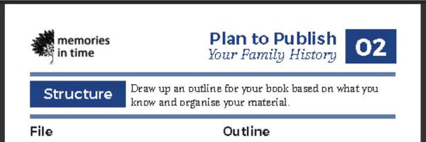 02 - Plan to Publish