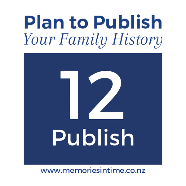 12 - Plan to Publish