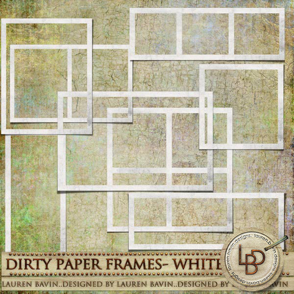 Dirty Paper Frames White