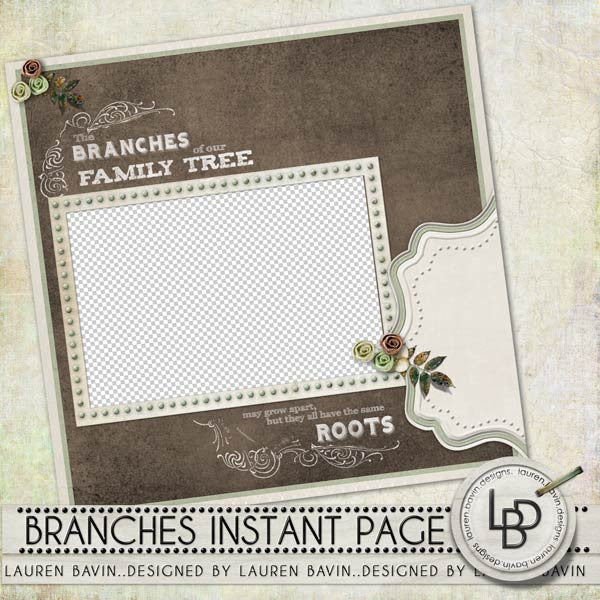 Branches Instant Page