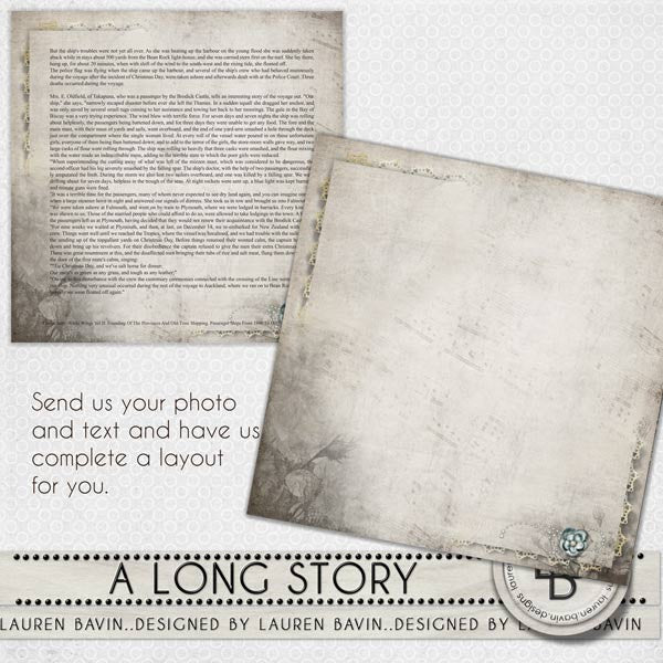 A Long Story - Made For You