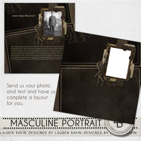 Masculine Portrait - Made For You