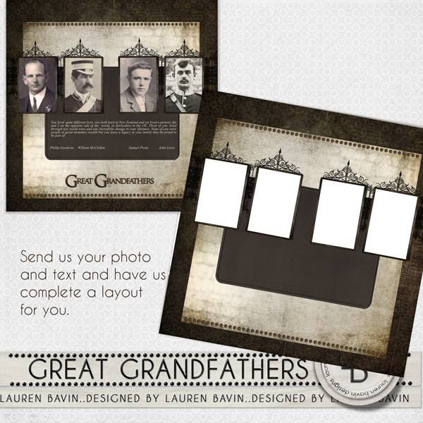 Great Grandfathers - Made For You