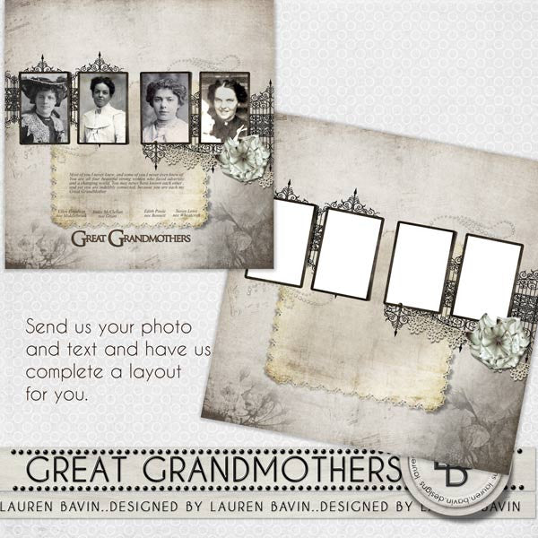 Great Grandmothers - Made For You