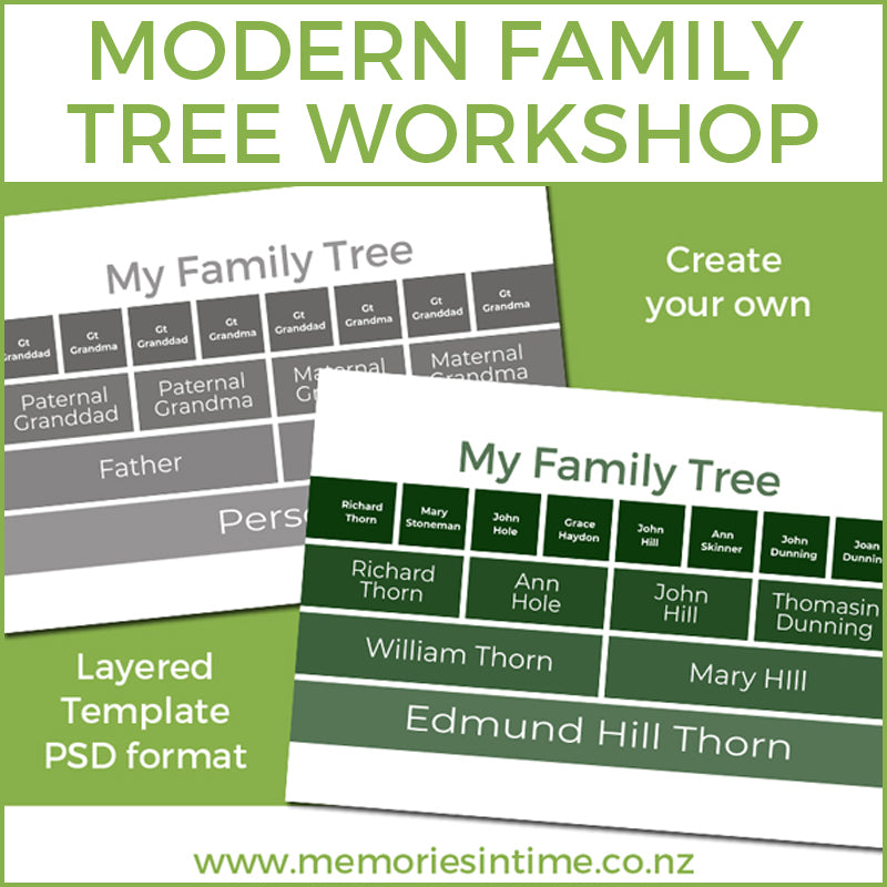The Modern Family Tree Workshop