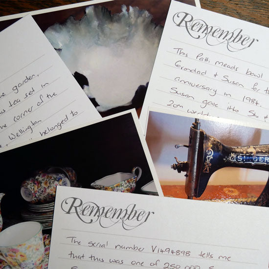 Remember - 6x4 Journal Cards (Landscape) - Printed