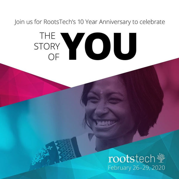 RootsTech 2020 - Free Streaming Schedule with Down Under times