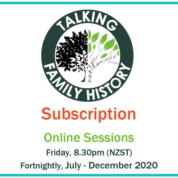 Talking Family History Subscription