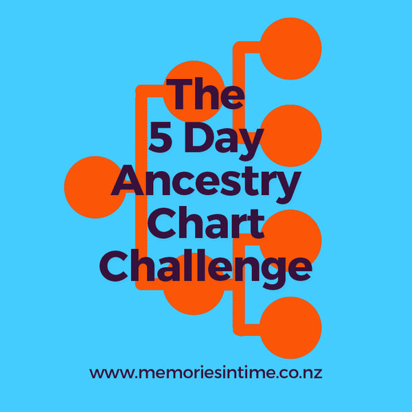 The 5 Day Ancestry Chart Challenge