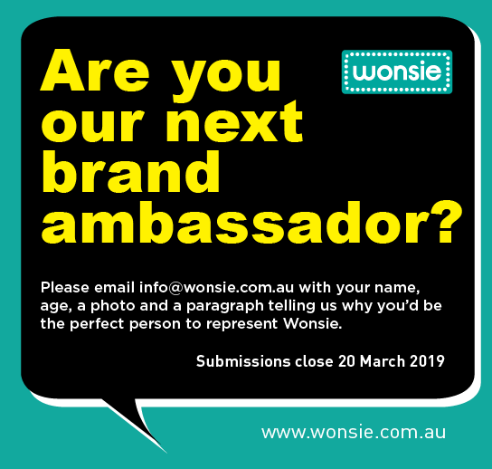 Are you our next Wonsie brand ambassador?